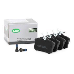 Batería VW PASSAT Variant (3B6) 1.9 TDI de Año 11.2000 130 CV: Juego de pastillas de freno (05P634) para de LPR