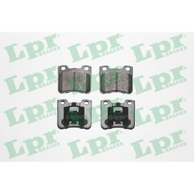 LPR  05P643 Bremsbelagsatz, Scheibenbremse Breite: 71,9mm, Höhe: 60,6mm, Dicke/Stärke: 17,3mm