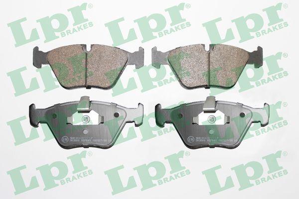 LPR  05P649 Bremsbelagsatz, Scheibenbremse Breite 1: 154,4mm, Breite 2: 155,1mm, Höhe 1: 63,5mm, Höhe 2: 64,1mm, Dicke/Stärke: 20mm