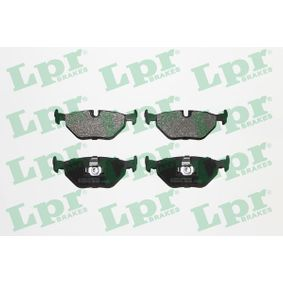 LPR  05P650 Bremsbelagsatz, Scheibenbremse Breite: 123,1mm, Höhe: 44,9mm, Dicke/Stärke: 17mm