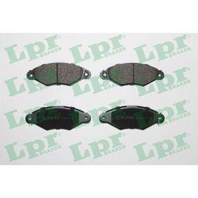 Bremsbelagsatz, Scheibenbremse Breite: 130,8mm, Höhe: 48mm, Dicke/Stärke: 18mm mit OEM-Nummer 4252.05