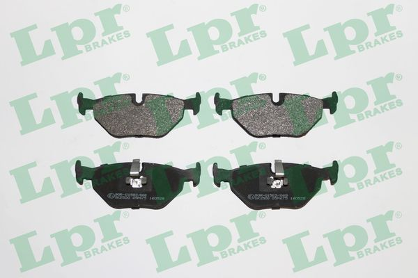 LPR  05P675 Bremsbelagsatz, Scheibenbremse Breite: 123mm, Höhe: 45mm, Dicke/Stärke: 17,3mm