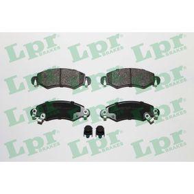 Bremsbelagsatz, Scheibenbremse Breite: 131mm, Höhe: 44mm, Dicke/Stärke: 15,5mm mit OEM-Nummer 4704578
