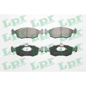 Bremsbelagsatz, Scheibenbremse Breite: 151,3mm, Höhe: 52,5mm, Dicke/Stärke: 18,1mm mit OEM-Nummer 9948131