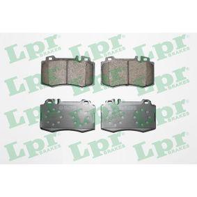 Fékbetét készlet, tárcsafék 05P849 E-osztály Sedan (W211) E 220 CDI 2.2 (211.006) Év 2008
