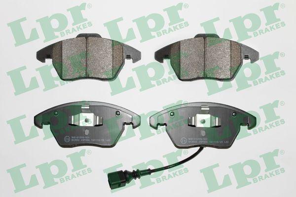 LPR  05P866 Bremsbelagsatz, Scheibenbremse Breite 1: 156,4mm, Breite 2: 155,2mm, Höhe 1: 71,5mm, Höhe 2: 66,2mm, Dicke/Stärke: 20mm