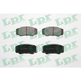 Bremsbelagsatz, Scheibenbremse Breite: 110mm, Höhe: 50mm, Dicke/Stärke: 20mm mit OEM-Nummer 4254-68