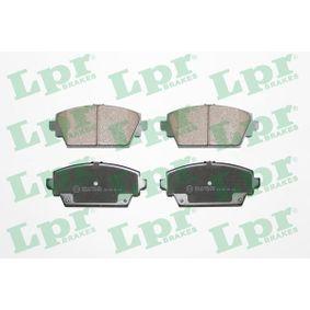 Nissan Almera Tino 2.2dCi Bremsbeläge LPR 05P940 (2.2 dCi Diesel 2004 YD22DDT)