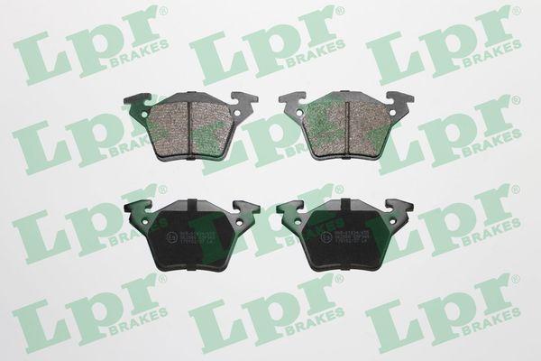 LPR  05P948 Bremsbelagsatz, Scheibenbremse Breite: 105mm, Höhe: 53mm, Dicke/Stärke: 17,8mm