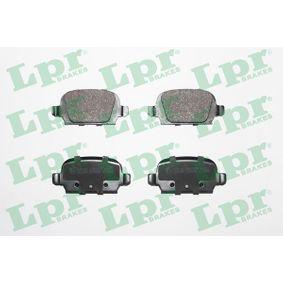 Bremsbelagsatz, Scheibenbremse Breite: 95,5mm, Höhe: 43,9mm, Dicke/Stärke: 14mm mit OEM-Nummer 9 200 132