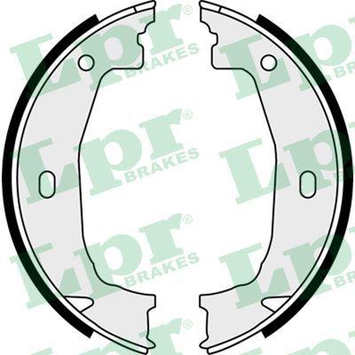 LPR  08100 Brake Shoe Set, parking brake Ø: 160mm, Width: 20mm, Ø: 160mm