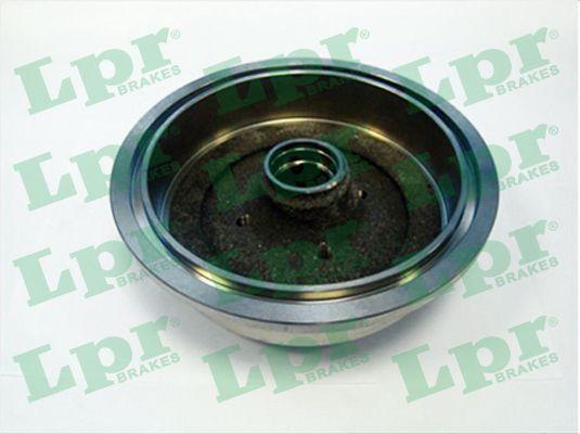 LPR  7D0242 Bremstrommel Ø: 230mm
