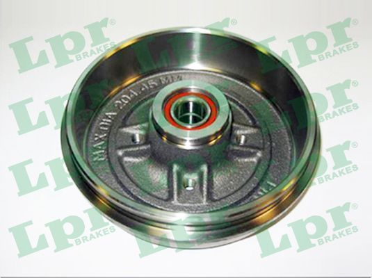 LPR  7D0388C Bremstrommel Ø: 203,3mm