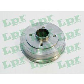 Bremstrommel Ø: 180,2mm mit OEM-Nummer 6001548126