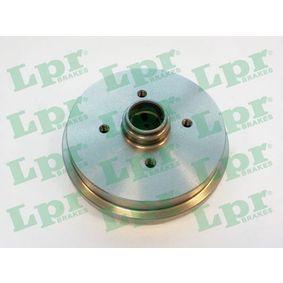 Bremstrommel Ø: 180mm mit OEM-Nummer 171501615A