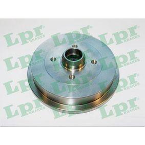 Bremstrommel Ø: 200mm mit OEM-Nummer 6U0 501 615
