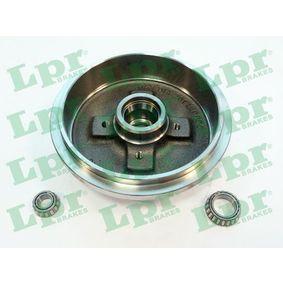 Bremstrommel Ø: 200mm mit OEM-Nummer 6U0501615
