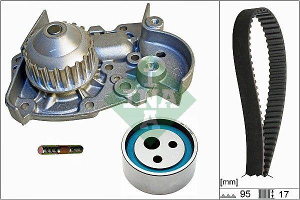 INA  530 0018 31 Wasserpumpe + Zahnriemensatz