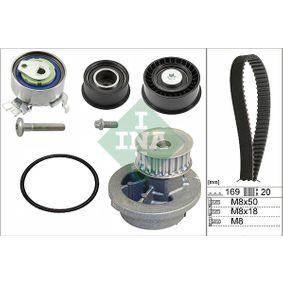 Wasserpumpe + Zahnriemensatz mit OEM-Nummer 90412730