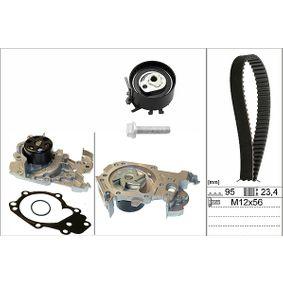 INA  530 0195 30 Wasserpumpe + Zahnriemensatz Breite: 23,40mm
