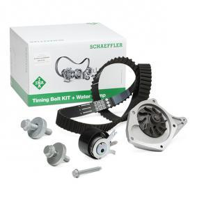Water pump and timing belt kit with OEM Number 8200 537 033
