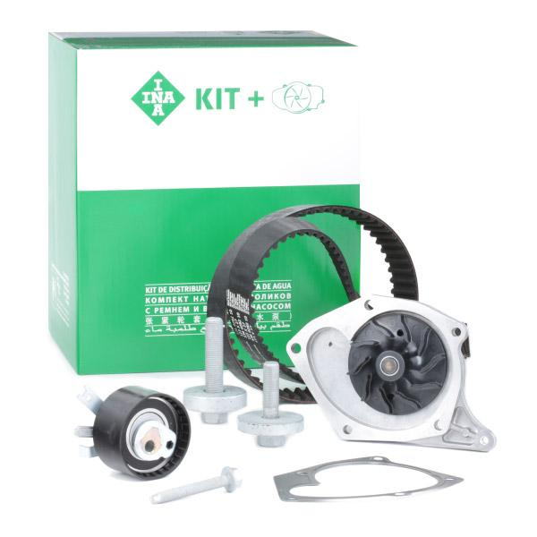 Timing belt and water pump kit INA 530019731 expert knowledge