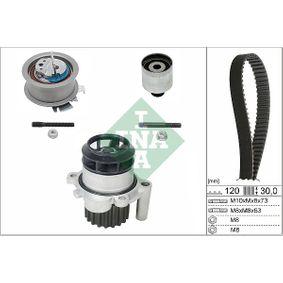 Bomba de Agua + Kit de Distribución SKODA FABIA Combi (6Y5) 1.9 TDI de Año 04.2000 100 CV: Bomba de agua + kit correa distribución (530 0201 30) para de INA