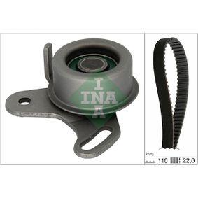 Timing Belt Set with OEM Number 24410 26000