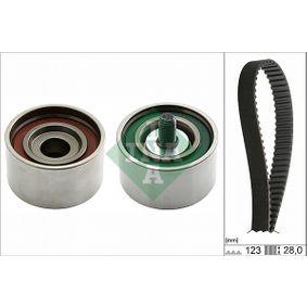 Timing Belt Set with OEM Number 2431227000