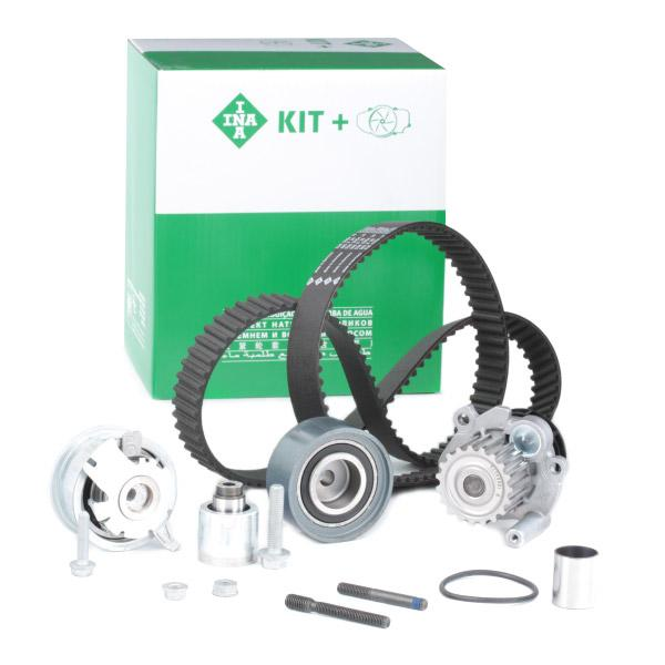 Timing belt and water pump kit INA 530050330 expert knowledge