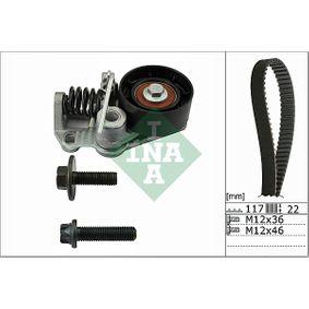 Zahnriemensatz Breite: 22,00mm mit OEM-Nummer 96MM-6K288-A1A