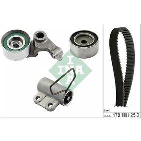 Timing Belt Set 530 0543 10 RAV 4 II (CLA2_, XA2_, ZCA2_, ACA2_) 2.0 D 4WD (CLA20_, CLA21_) MY 2004