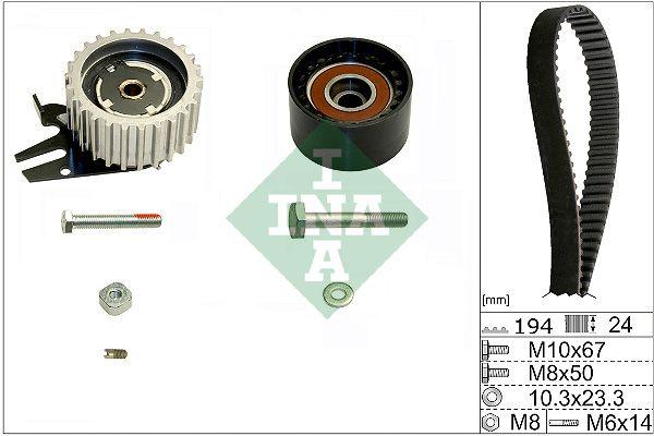 INA  530 0561 10 Timing Belt Set