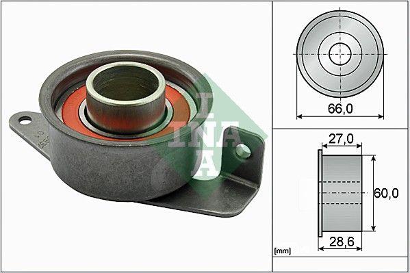 INA  531 0029 20 Spannrolle, Zahnriemen Ø: 66,00mm