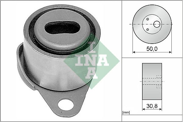 INA  531 0061 10 Spannrolle, Zahnriemen Ø: 50,00mm