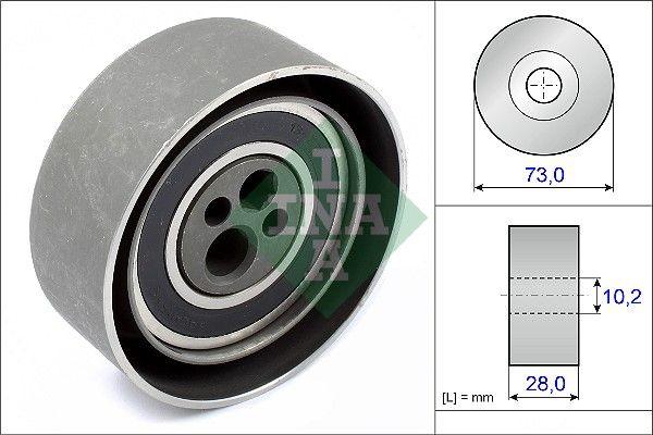 INA  531 0084 20 Spannrolle, Zahnriemen Bohrung-Ø: 10mm, Ø: 72,00mm