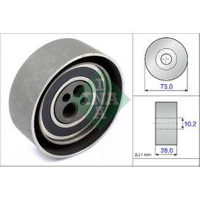 Spannrolle, Zahnriemen Bohrung-Ø: 10mm, Ø: 72,00mm mit OEM-Nummer 078 109 243 C.