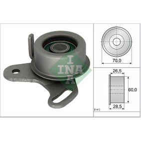 Tensioner Pulley, timing belt Ø: 60,00mm with OEM Number 24410 26000