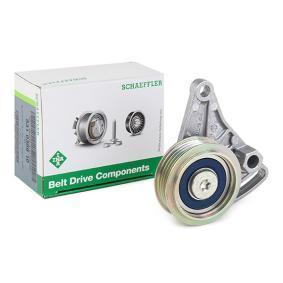 Spannrolle, Keilrippenriemen VW PASSAT Variant (3B6) 1.9 TDI 130 PS ab 11.2000 INA Spannrolle, Keilrippenriemen (531 0309 10) für