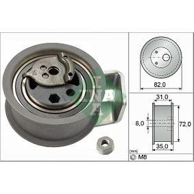 Napínací kladka, ozubený řemen R: 72,00mm s OEM Čislo 045 109 243A