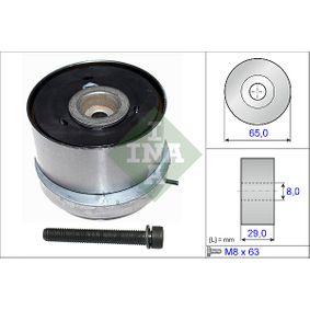 Tensioner Pulley, timing belt Ø: 66,00mm with OEM Number 55574864