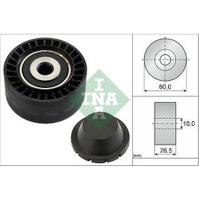 INA  532 0331 10 Паразитна / водеща ролка, пистов ремък Ø: 60,0мм