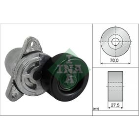 INA  534 0306 10 Spannarm, Keilrippenriemen Breite: 27,50mm, Ø: 70,00mm