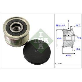 INA  535 0080 10 Generatorfreilauf