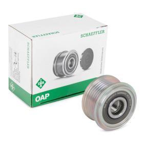 Generatorfreilauf 535 0102 10 CLIO 2 (BB0/1/2, CB0/1/2) 1.5 dCi Bj 2014