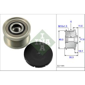 Generatorfreilauf mit OEM-Nummer 12-31-7-521-385