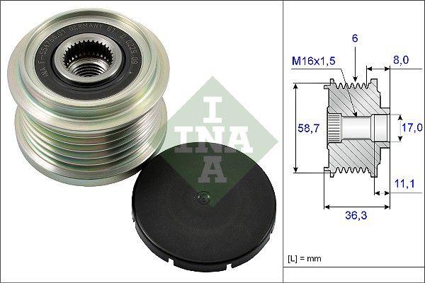 INA  535 0160 10 Generatorfreilauf