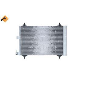 Kondensator, Klimaanlage Kältemittel: R 134a mit OEM-Nummer 6455Y9
