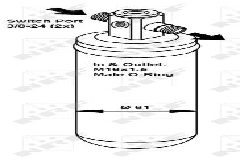 NRF  35424 Kondensator, Klimaanlage Kältemittel: R 134a