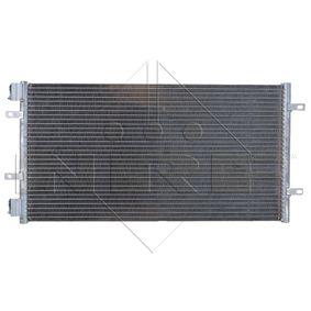 Condenser, air conditioning 35492 PUNTO (188) 1.2 16V 80 MY 2000